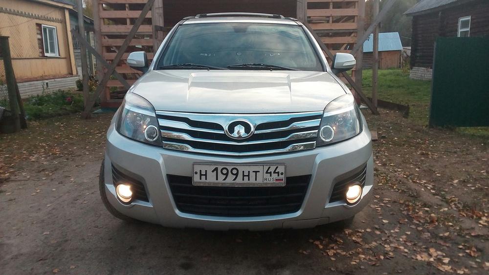 Подержанный Great Wall H3, хорошее состояние, серебряный , 2011 года выпуска, цена 520 000 руб. в Костромской области