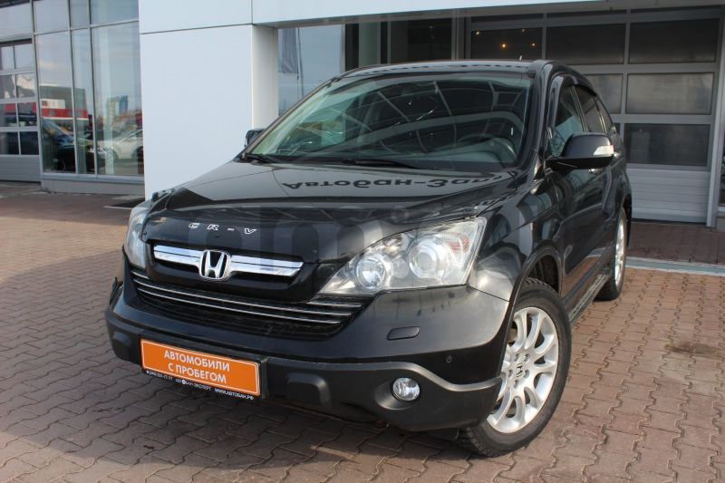 Honda CR-V с пробегом, черный , отличное состояние, 2008 года выпуска, цена 770 000 руб. в автосалоне Автобан-Запад (Екатеринбург, ул. Металлургов, д. 67)