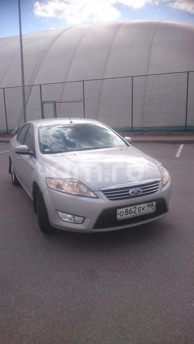 Подержанный Ford Mondeo, хорошее состояние, серебряный металлик, 2010 года выпуска, цена 479 000 руб. в Санкт-Петербурге
