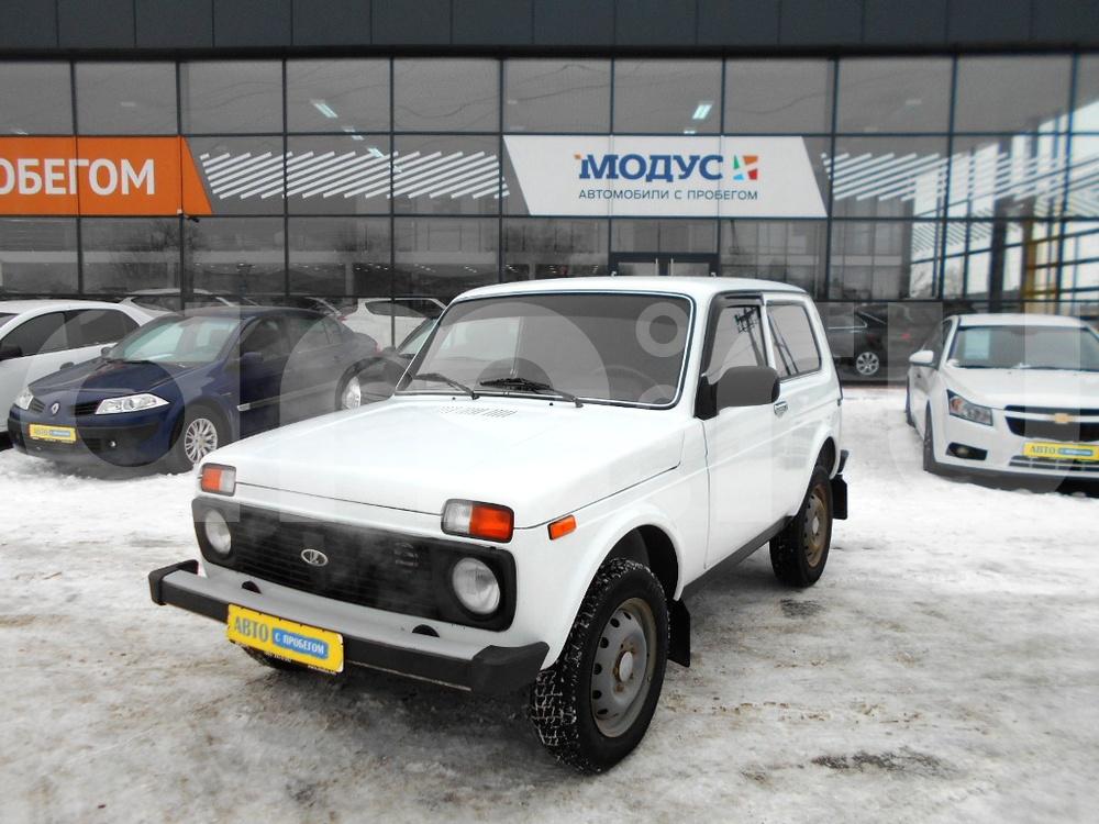 ВАЗ (Lada) 4x4 с пробегом, белый , отличное состояние, 2010 года выпуска, цена 210 000 руб. в автосалоне  ()