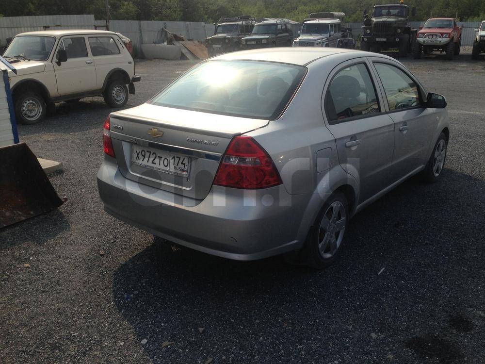Подержанный Chevrolet Aveo, среднее состояние, серебряный металлик, 2008 года выпуска, цена 265 000 руб. в Челябинской области