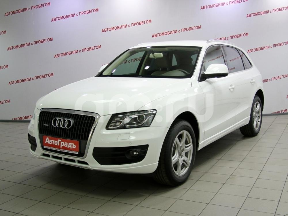 Audi Q5 с пробегом, белый , отличное состояние, 2011 года выпуска, цена 915 000 руб. в автосалоне АвтоГрадъ (Москва, ш. Варшавское, д. 170Г)