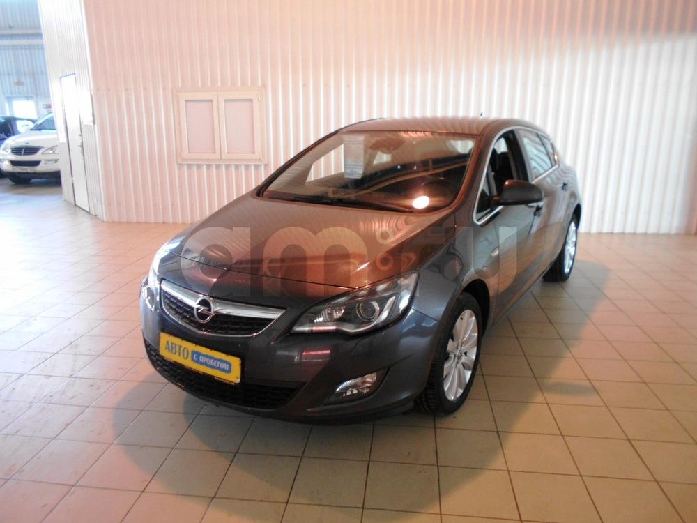 Opel Astra с пробегом, серый , отличное состояние, 2011 года выпуска, цена 560 000 руб. в автосалоне МОДУС ПЛЮС Ростов-на-Дону (Ростов-на-Дону, ул.Вавилова, д. 74 А/1)