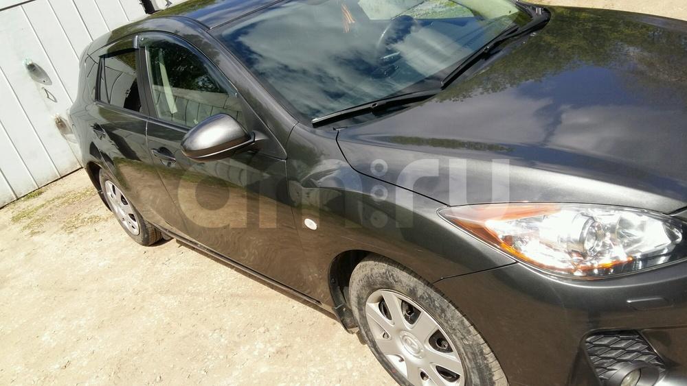 Подержанный Mazda 3, хорошее состояние, серый металлик, 2012 года выпуска, цена 560 000 руб. в Самаре