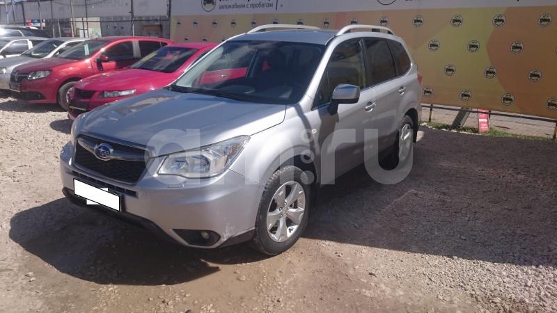 Subaru Forester с пробегом, серебряный , отличное состояние, 2014 года выпуска, цена 1 150 000 руб. в автосалоне Авто-Брокер на Антонова-Овсеенко (Самара, ул. Антонова-Овсеенко, д. 51Ж)