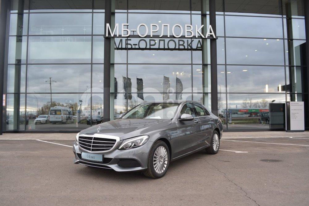 Новый авто Mercedes-Benz C-Класс, серый металлик, 2016 года выпуска, цена 2 360 000 руб. в автосалоне МБ-Орловка (Набережные Челны, тракт Мензелинский, д. 24)