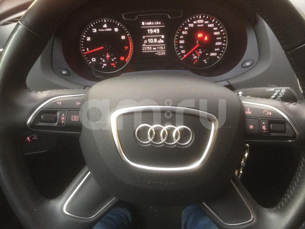 Подержанный Audi Q3, отличное состояние, бежевый металлик, 2013 года выпуска, цена 1 120 000 руб. в Челябинской области