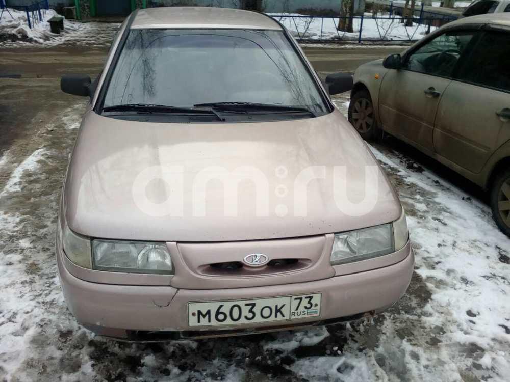 Подержанный ВАЗ (Lada) 2110, хорошее состояние, розовый , 2001 года выпуска, цена 55 000 руб. в Ульяновске