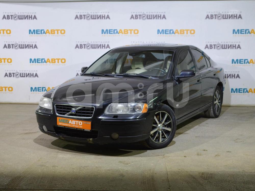 Volvo S60 с пробегом, черный , отличное состояние, 2006 года выпуска, цена 375 000 руб. в автосалоне Мега Авто Калуга (Калуга, ул. Зерновая, д. 28)