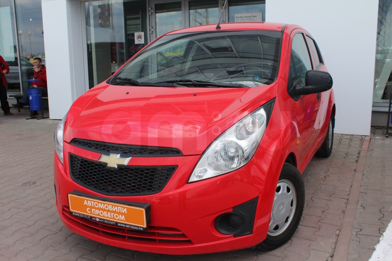 Chevrolet Spark с пробегом, красный , отличное состояние, 2011 года выпуска, цена 269 000 руб. в автосалоне  ()