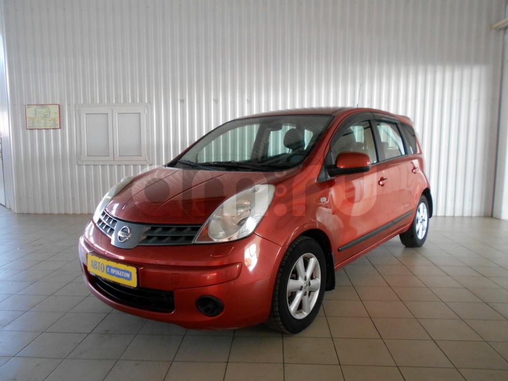 Nissan Note с пробегом, красный , отличное состояние, 2007 года выпуска, цена 320 000 руб. в автосалоне  ()