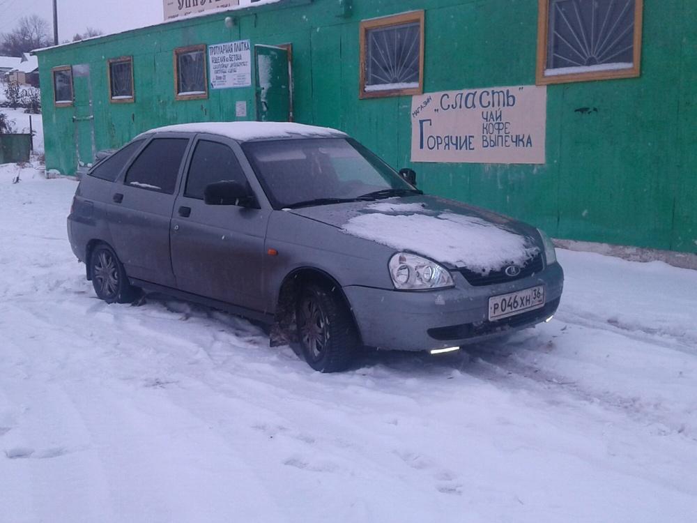 Подержанный ВАЗ (Lada) 2112, хорошее состояние, серебряный , 2006 года выпуска, цена 150 000 руб. в Воронежской области