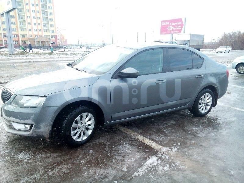Подержанный Skoda Octavia, отличное состояние, серый , 2014 года выпуска, цена 760 000 руб. в республике Татарстане