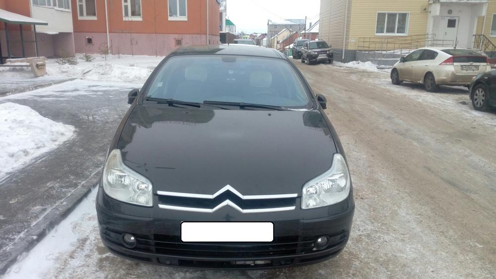 Подержанный Citroen C5, хорошее состояние, черный , 2005 года выпуска, цена 355 000 руб. в ао. Ханты-Мансийском Автономном округе - Югре