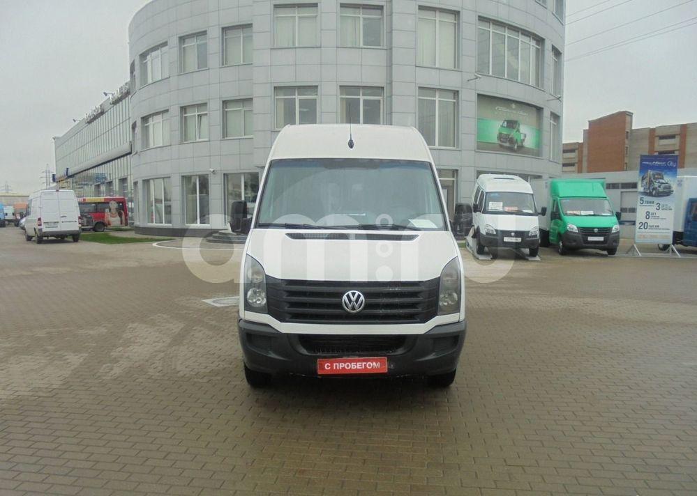 Volkswagen Crafter с пробегом, белый , отличное состояние, 2013 года выпуска, цена 990 000 руб. в автосалоне АвтоГАЗ на Котляковском (Москва, пер. 1-й Котляковский, д. 14)
