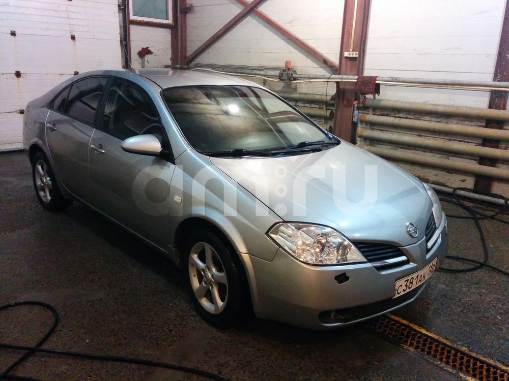 Подержанный Nissan Primera, хорошее состояние, серый , 2007 года выпуска, цена 300 000 руб. в ао. Ханты-Мансийском Автономном округе - Югре