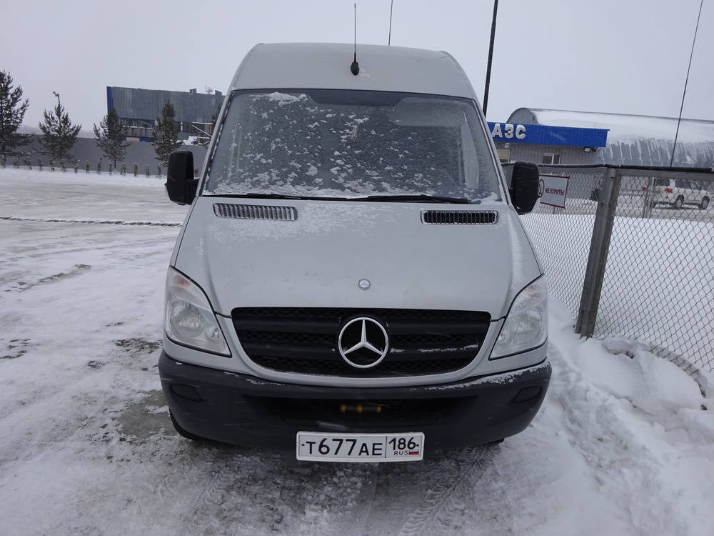 Подержанный Mercedes-Benz Sprinter, хорошее состояние, серый , 2013 года выпуска, цена 2 200 000 руб. в ао. Ханты-Мансийском Автономном округе - Югре