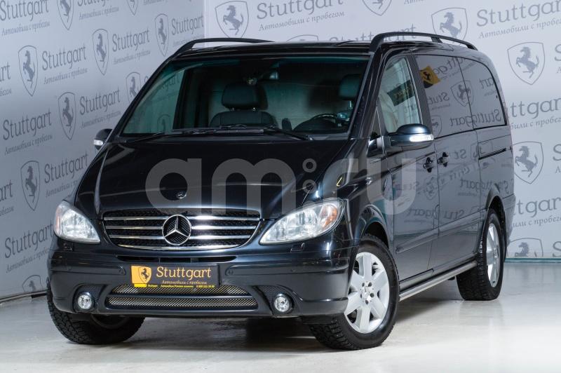 Mercedes-Benz Viano с пробегом, серый , отличное состояние, 2006 года выпуска, цена 1 600 000 руб. в автосалоне Stuttgart (Екатеринбург, ул. Металлургов, д. 84(напротив ТЦ «Мега»))