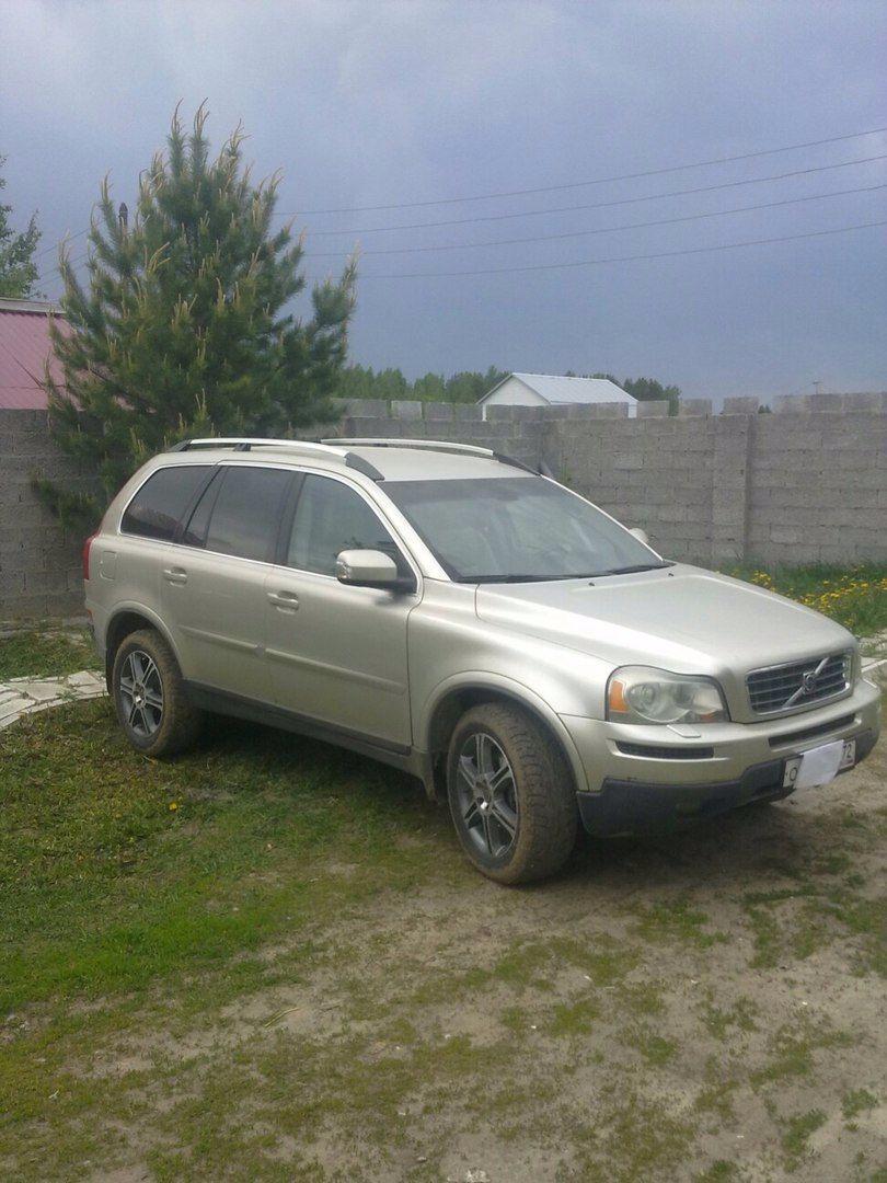 Подержанный Volvo XC90, отличное состояние, серебряный , 2007 года выпуска, цена 750 000 руб. в Тюмени