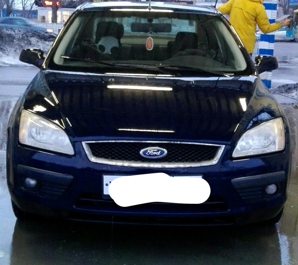 Подержанный Ford Focus, хорошее состояние, синий , 2007 года выпуска, цена 230 000 руб. в Воронежской области