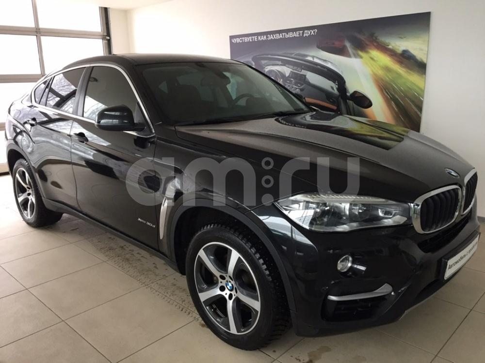 BMW X6 с пробегом, черный , отличное состояние, 2016 года выпуска, цена 3 725 000 руб. в автосалоне  ()