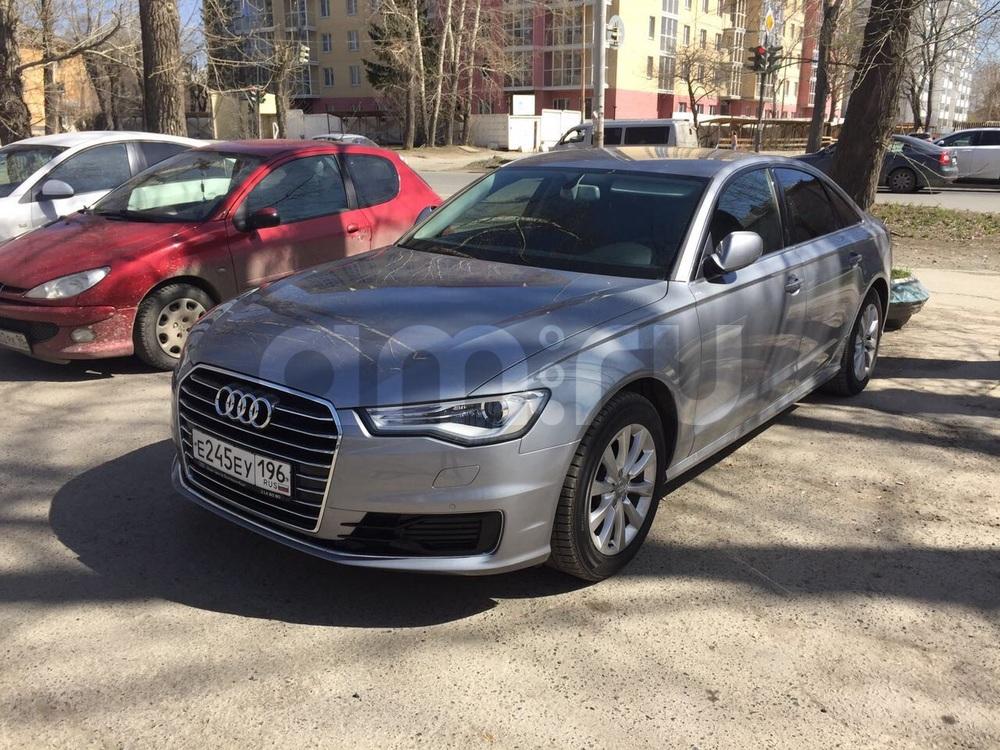 Подержанный Audi A6, отличное состояние, серый , 2016 года выпуска, цена 1 890 000 руб. в Екатеринбурге