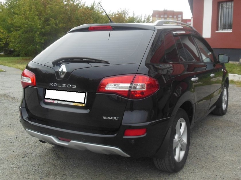 Renault Koleos с пробегом, черный , хорошее состояние, 2008 года выпуска, цена 575 000 руб. в автосалоне  ()