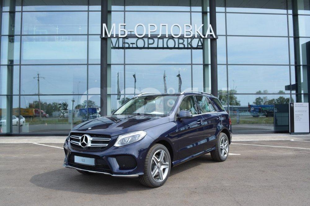 Новый авто Mercedes-Benz GLE-Класс, синий металлик, 2016 года выпуска, цена 4 650 000 руб. в автосалоне  ()