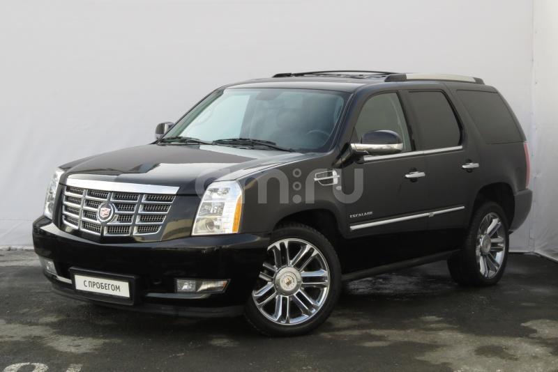 Cadillac Escalade с пробегом, черный , отличное состояние, 2011 года выпуска, цена 1 650 000 руб. в автосалоне  ()