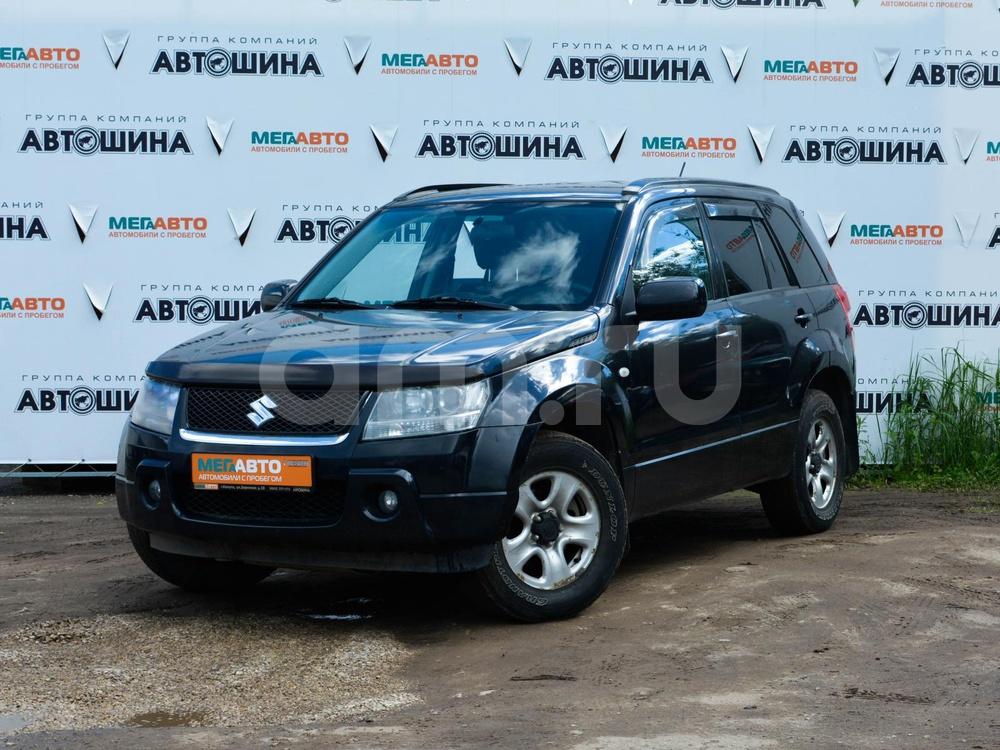 Suzuki Grand Vitara с пробегом, черный , отличное состояние, 2007 года выпуска, цена 470 000 руб. в автосалоне Мега Авто Калуга (Калуга, ул. Зерновая, д. 28)
