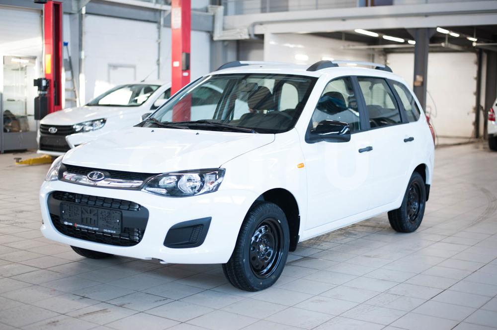 Новый авто ВАЗ (Lada) Kalina, белый , 2017 года выпуска, цена 488 500 руб. в автосалоне Березовский Лада-Центр (Березовский, ул. Кольцевая, д. 4)