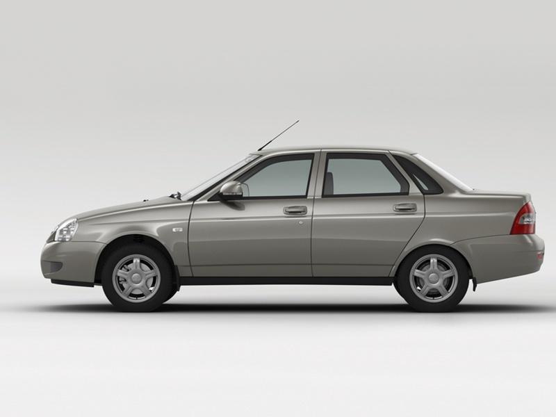 Подержанный ВАЗ (Lada) Priora, отличное состояние, серый , 2008 года выпуска, цена 185 000 руб. в Челябинской области