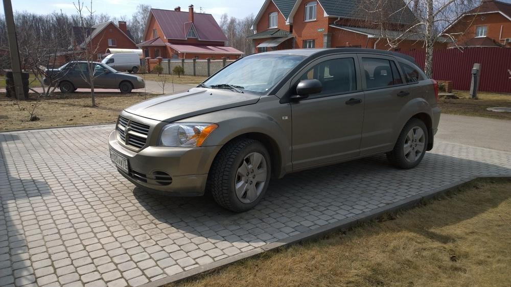 Подержанный Dodge Caliber, отличное состояние, серый , 2008 года выпуска, цена 450 000 руб. в Ульяновске