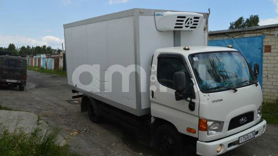 Подержанный Hyundai HD65, хорошее состояние, белый , 2012 года выпуска, цена 850 000 руб. в Челябинской области