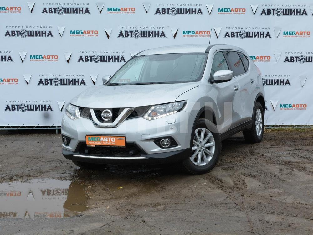 Nissan X-Trail с пробегом, серебряный , отличное состояние, 2015 года выпуска, цена 1 290 000 руб. в автосалоне Мега Авто Калуга (Калуга, ул. Зерновая, д. 28)