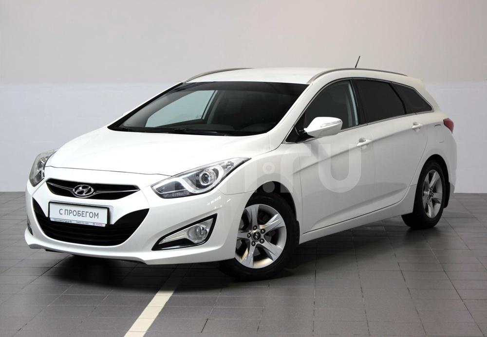Hyundai i40 с пробегом, белый , отличное состояние, 2013 года выпуска, цена 869 000 руб. в автосалоне  ()