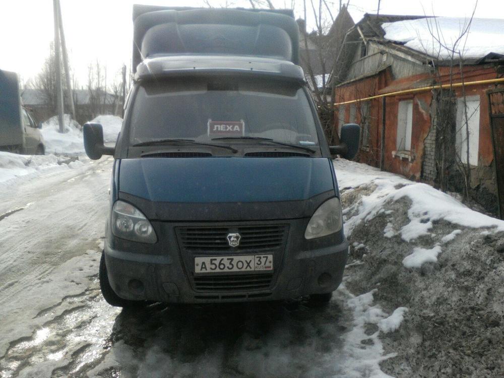 Подержанный ГАЗ Газель, хорошее состояние, синий металлик, 2005 года выпуска, цена 220 000 руб. в Иваново