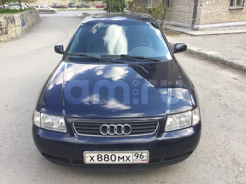 Подержанный Audi A3, хорошее состояние, синий , 2000 года выпуска, цена 335 000 руб. в Екатеринбурге