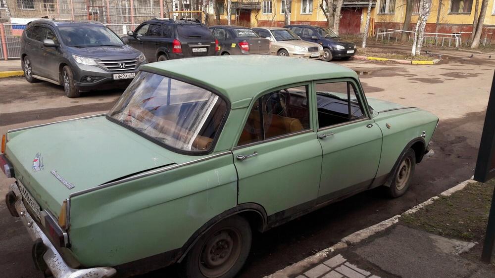 Подержанный ИЖ 412, хорошее состояние, зеленый , 1980 года выпуска, цена 40 000 руб. в Костромской области