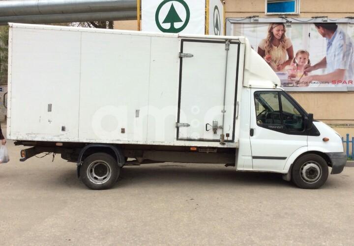 Подержанный Ford Transit, хорошее состояние, белый , 2010 года выпуска, цена 610 000 руб. в Нижнем Новгороде