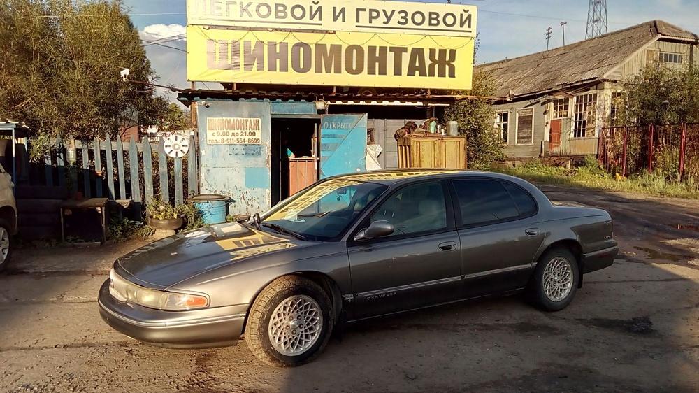 Подержанный Chrysler LHS, среднее состояние, серый , 1994 года выпуска, цена 135 000 руб. в Архангельске