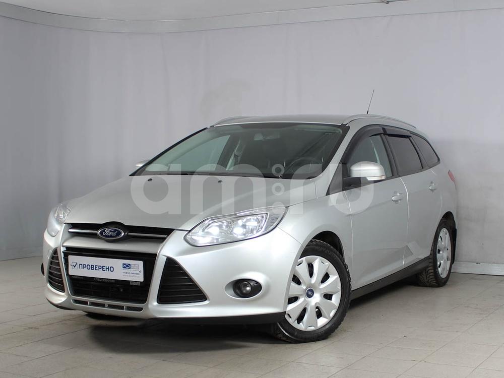Ford Focus с пробегом, серебряный , отличное состояние, 2013 года выпуска, цена 499 000 руб. в автосалоне  ()