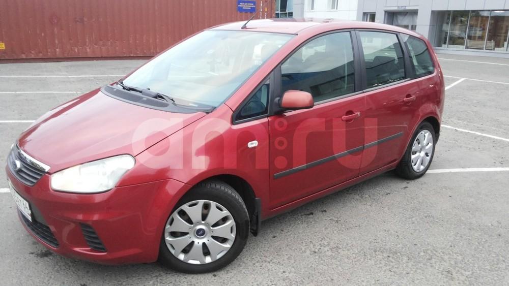 Подержанный Ford C-Max, отличное состояние, красный , 2008 года выпуска, цена 389 000 руб. в Саратове