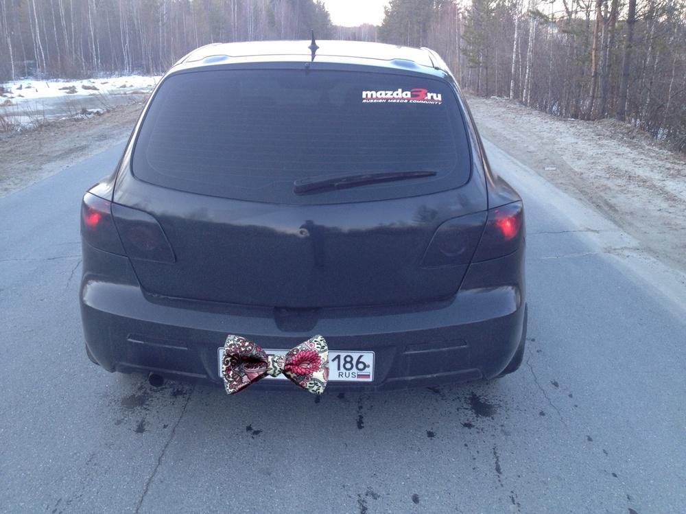 Подержанный Mazda 3, хорошее состояние, черный , 2006 года выпуска, цена 310 000 руб. в ао. Ханты-Мансийском Автономном округе - Югре