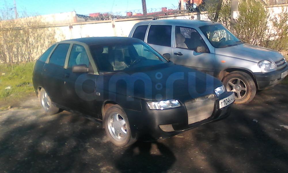 Подержанный ВАЗ (Lada) 2112, хорошее состояние, черный , 2006 года выпуска, цена 130 000 руб. в Челябинской области