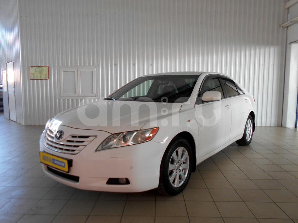 Toyota Camry с пробегом, белый , отличное состояние, 2008 года выпуска, цена 690 000 руб. в автосалоне  ()