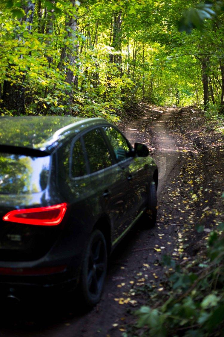 Подержанный Audi Q5, отличное состояние, черный металлик, 2012 года выпуска, цена 1 480 000 руб. в республике Татарстане