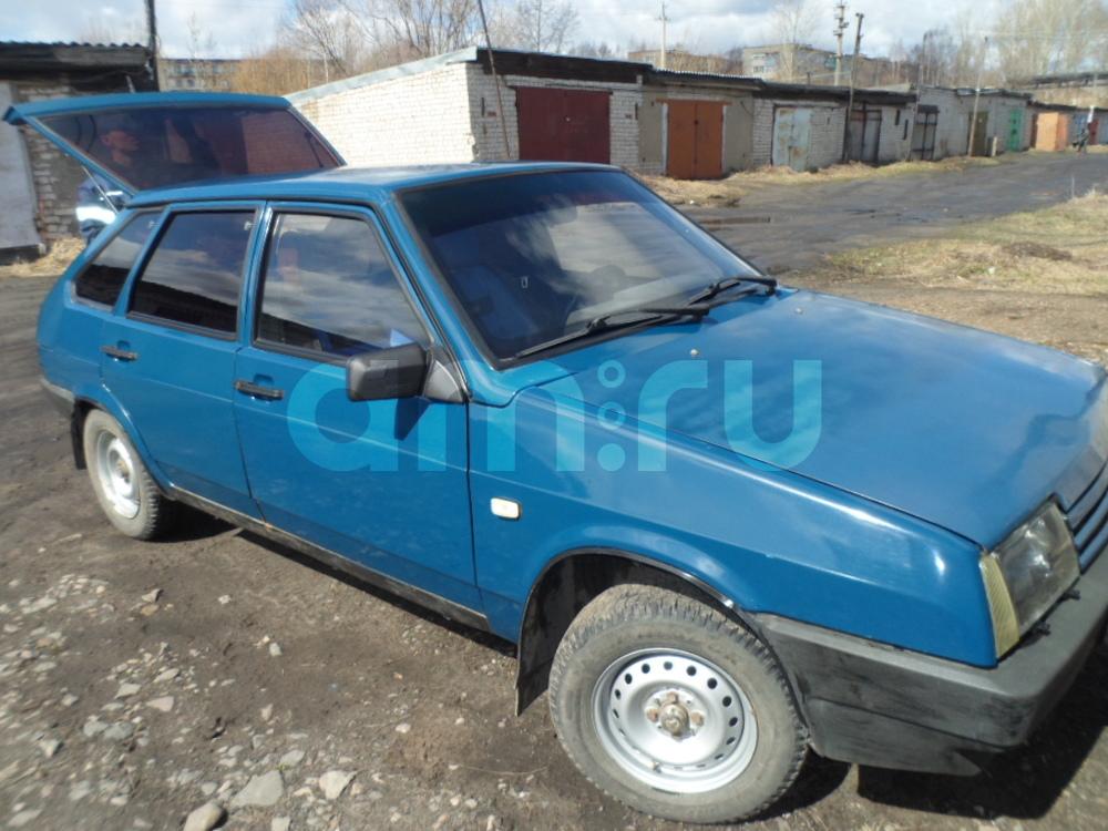 Подержанный ВАЗ (Lada) 2109, среднее состояние, синий , 1997 года выпуска, цена 50 000 руб. в Костромской области