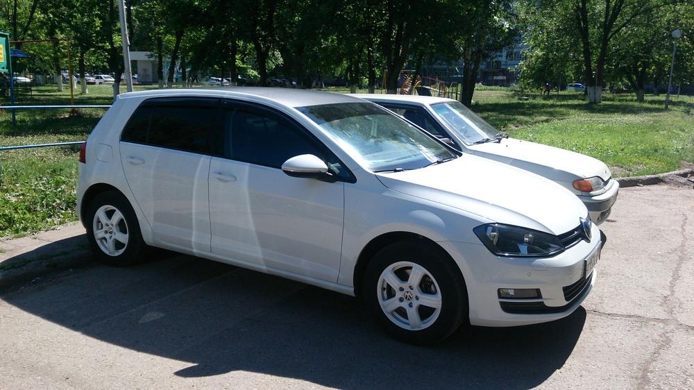 Подержанный Volkswagen Golf, отличное состояние, белый , 2013 года выпуска, цена 720 000 руб. в республике Татарстане