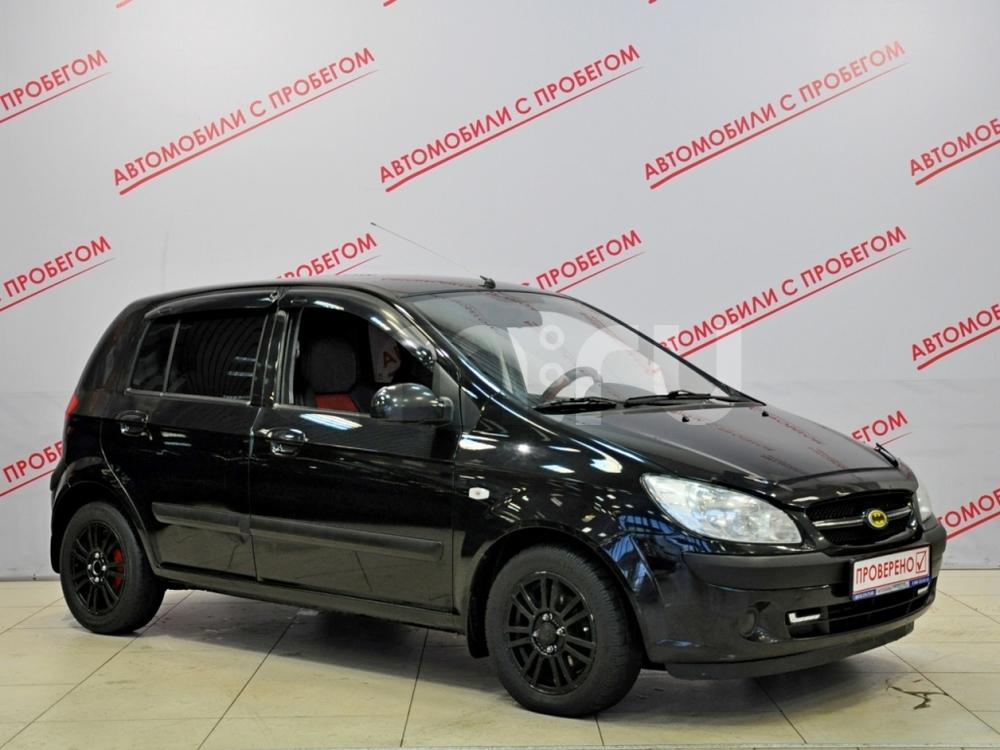 Hyundai Getz с пробегом, черный , отличное состояние, 2008 года выпуска, цена 299 000 руб. в автосалоне NORTH-AUTO (Санкт-Петербург, пр-кт Маршала Блюхера, д. 54, корп. 1)